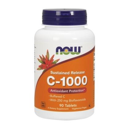 Now Foods - Vitamin C-1000 Komplex 90 Tabletten