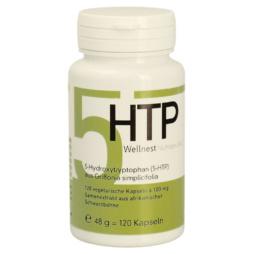 5-HTP 100mg 120 Kapseln reines 5-Hydroxytryptophan