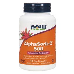 Now Foods AlphaSorb C 500 90 veg. Kapseln