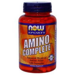 Amino Complete 120 Aminosäure Kapseln von NOW Foods