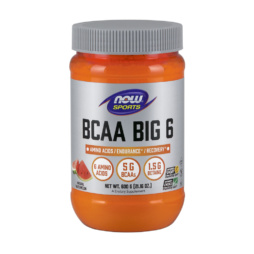 BCAA Big 6 Pulver 600g von NOW Foods