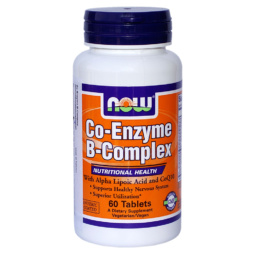 Co-Enzym B-Complex 60 Tabletten von NOW Food