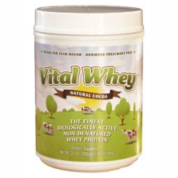 Vital Whey Kakao - natürliches Whey Protein von Well Wisdom