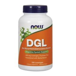 DGL 400mg De-Glycyrrhizinated Süßholzwurzel-Extrakt, 100 Lutschtabletten