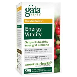 Energy Vitality von Gaia Herbs vegan