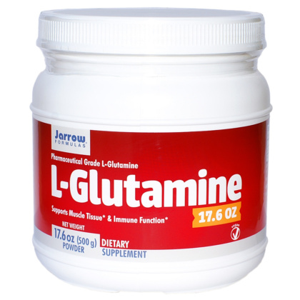 L-Glutamin Pulver 500g pharmazeutisch rein von Jarrow Formulas