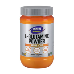 L-Glutamine Powder 1lb (454g) pur von NOW Foods