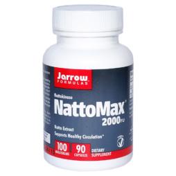 Nattokinase Kapseln 100mg / 2000 FU Dosierung - NattoMax von Jarrow Formulas