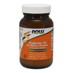 Probiotic-10 Pulver 50 Billion CFU von NOW Foods