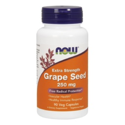 Now Foods Grape Seed extra strength 250 mg Veg Capsules