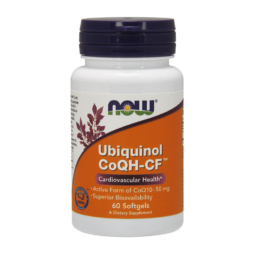 Ubiquinol CoQH-CF 50mg - aktives Kaneka QH CoQ10 Präparat von NOW Foods